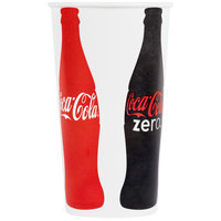 Dart Solo TPH445-44049 Coke® 44 oz. Poly Paper Cold Cup - 500/Case