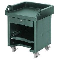 Cambro VCSHD519 Green Versa Cart with Heavy Duty Casters