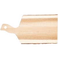Tablecraft ACABB1610 Acacia Wood Serving Board - 16 inch x 10 inch x 3/4 inch