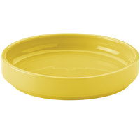 Hall China 32722320 Sunflower 38 oz. Colorations Scoop Plate - 6/Case