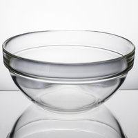 Cardinal Arcoroc 10027 39 oz. Stackable Glass Ingredient Bowl - 24/Case