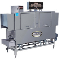 CMA Dishmachines EST-66 High Temperature Conveyor Dishwasher - Right to Left, 240V, 3 Phase