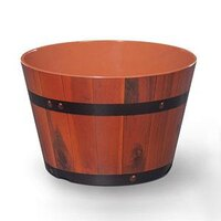 GET ML-271-BE 2.6 Gallon Melamine Gourmet Barrel - 3 / Pack