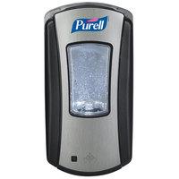 Purell® 1928-04 LTX-12 Brushed Chrome / Black 1200 mL Touchless Dispenser