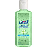 Purell® 9631-24 Advanced with Aloe 4 oz. Gel Instant Hand Sanitizer - 24 / Case