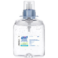 Purell® 5091-03 FMX Advanced Green Certified 1200 mL Gel Instant Hand Sanitizer - 3/Case