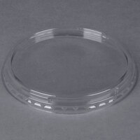 Genpak SC933 Clear Round Deli Container Lid   - 100/Pack