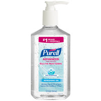 Purell® 3646-12 Advanced Skin Nourishing 12 oz. Gel Instant Hand Sanitizer - 12 / Case