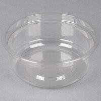 Genpak SC017 17 oz. Clear Round Supermarket Container - 300 / Case