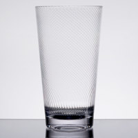 GET 4420-CL Luxury 20 oz. Clear SAN Plastic Tumbler - 24/Case