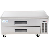 Avantco CBE-52 52 inch 2 Drawer Refrigerated Chef Base