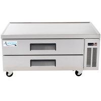Avantco CBE-52 52 inch 2 Drawer Refrigerated Chef Base