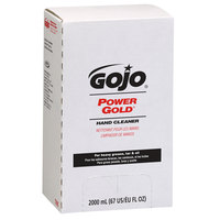 GOJO® 7295-04 TDX 2000 mL Power Gold Hand Cleaner - 4/Case