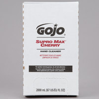 GOJO® 7282-04 TDX 2000 mL Supro Max Cherry Hand Cleaner - 4/Case