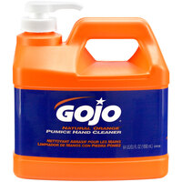 GOJO® 0958-04 1/2 Gallon Natural Orange Pumice Hand Cleaner - 4/Case