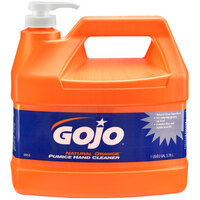 GOJO® 0955-02 1 Gallon Natural Orange Pumice Hand Cleaner - 2 / Case