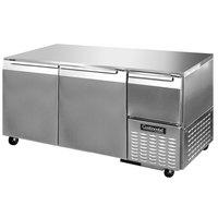 Continental Refrigerator CUFA68 68 inch Low Profile Undercounter Freezer - 22 Cu. Ft.