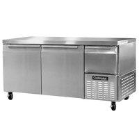 Continental Refrigerator CFA68 68 inch Extra-Deep Undercounter Freezer - 22 Cu. Ft.
