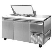 Continental Refrigerator CRA60-12M 60 inch Mighty Top Sandwich / Salad Prep Refrigerator
