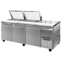 Continental Refrigerator CRA93-24M 93 inch Mighty Top Sandwich / Salad Prep Refrigerator