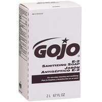 GOJO® 2280-04 NXT E2 2000 mL Fragrance Free Sanitizing Lotion Hand Soap - 4/Case
