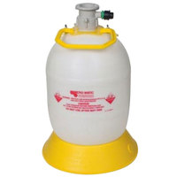 Micro Matic M15-801147 3.9 Gallon Beer Tap Cleaning Bottle for D Style Systems