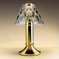 Sterno Products 85200 Paige Polished Brass Fine Dining Lamp Base