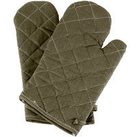 13 inch Flame-Retardant Oven Mitts - 1 Pair