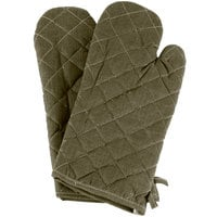 15 inch Flame-Retardant Oven Mitts - 1 Pair
