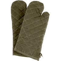 17 inch Flame-Retardant Oven Mitts - 1 Pair