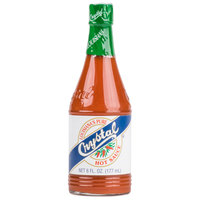 Crystal 6 oz. Hot Sauce - 24/Case