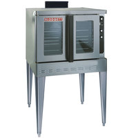 Blodgett DFG-100-ES Premium Series Single Deck Full Size Gas Convection Oven with Draft Diverter - 45,000 BTU