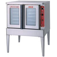 Blodgett Mark V-100 Xcel Single Deck Full Size Electric Convection Oven - 11 kW