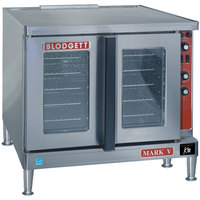 Blodgett Mark V-100 Premium Series Additional Model Full Size Electric Convection Oven - 208V, 1 Phase,11 kW