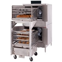 Blodgett DFG-100-ES Premium Series Single Deck Full Size Roll-In Gas Convection Oven with Draft Diverter - 45,000 BTU