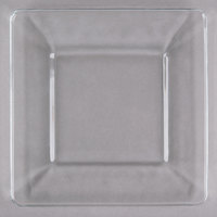 Libbey 1794709 Tempo 8 inch Square Dinner Plate - 12 / Case