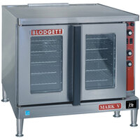 Blodgett Mark V-100 Premium Series Single Deck Roll-In Model Full Size Electric Convection Oven - 11 kW