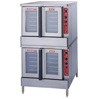 Blodgett Mark V-100 Premium Series Double Deck Full Size Electric Convection Oven - 22 kW