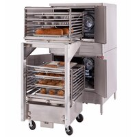 Blodgett Mark V-200 Premium Series Double Deck Roll-In Bakery Depth Full Size Electric Convection Oven - 22 kW