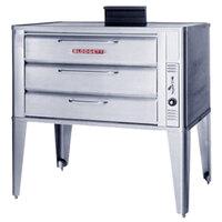Blodgett 981 Gas Single Deck Oven with Draft Diverter - 50,000 BTU