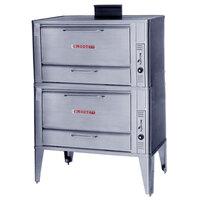 Blodgett 966 Gas Double Deck Oven with Draft Diverter - 100,000 BTU
