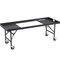 Crown Verity TB-36 36 inch Portable Grill Table