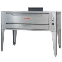 Blodgett 1060 Liquid Propane Single Pizza Deck Oven with Draft Diverter - 85,000 BTU