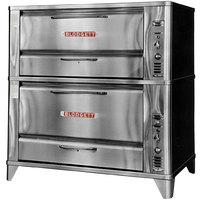Blodgett 961/966 Liquid Propane Double Deck Oven with Vent Kit - 87,000 BTU
