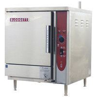 Blodgett SBF-3E 3 Pan Boiler Free Electric Countertop Steamer - 240V, 3 Phase, 9 kW