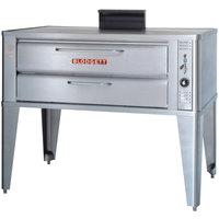 Blodgett 911 Gas Compact Single Deck Oven with Draft Diverter - 27,000 BTU