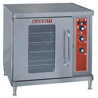 Blodgett CTB Premium Series Single Deck Half Size Electric Convection Oven with Left-Hinged Door - 5.6 kW