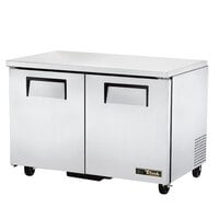 True TUC-48-LP-HC 48 inch Two Door Low Profile Undercounter Refrigerator