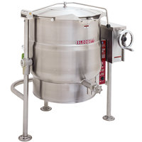 Blodgett KLT-100E 100 Gallon Tilting Quad-Leg Electric Steam Jacketed Kettle - 240V, 3 Phase, 24 kW