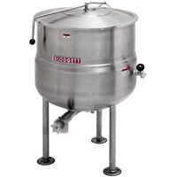 Blodgett KLS-100DS 100 Gallon Stationary Tri-Leg Steam Jacketed Direct Steam Kettle
